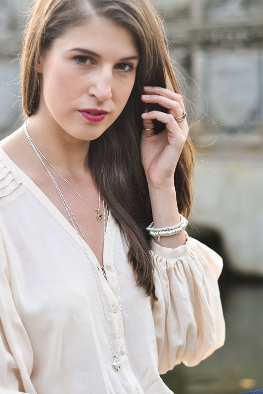 Thankfifi - Time to Sparkle in Links of London layered Sweetie necklaces - fashion blogger streetstyle-5