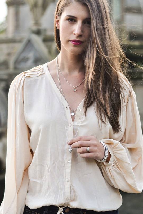 Thankfifi - Time to Sparkle in Links of London layered Sweetie necklaces - fashion blogger streetstyle-8