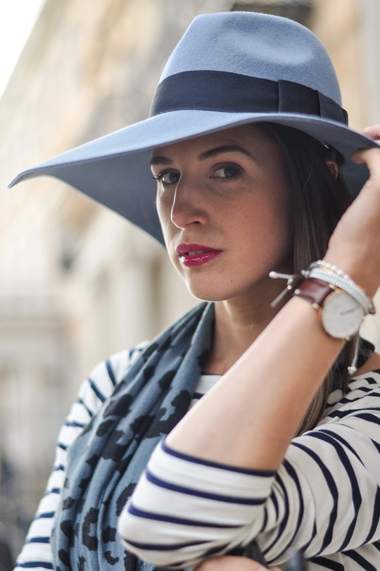 Thankfifi - Travel style in River Island blue fedora & Feather & Stone leopard scarf - fashion blogger streetstyle-8