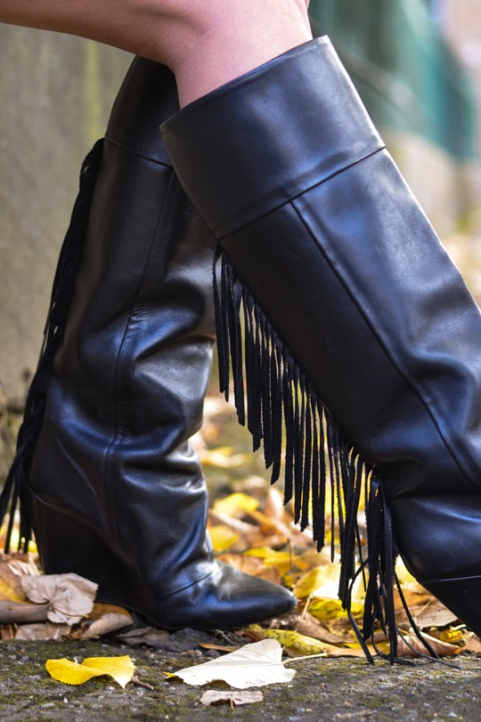 Thankfifi- fringed knee high boots - fashion blogger streetstyle-11