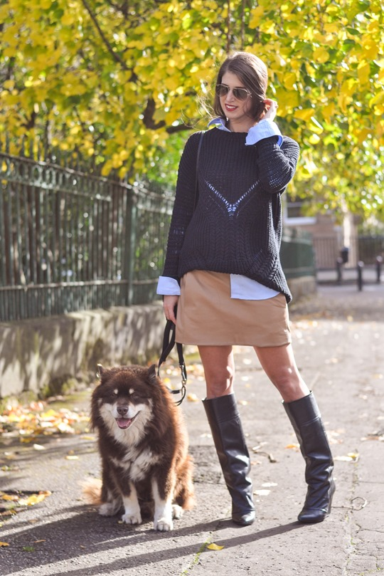 Thankfifi- fringed knee high boots - fashion blogger streetstyle-2