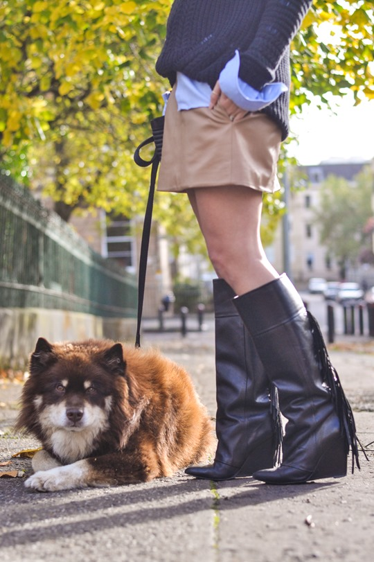 Thankfifi- fringed knee high boots - fashion blogger streetstyle-7