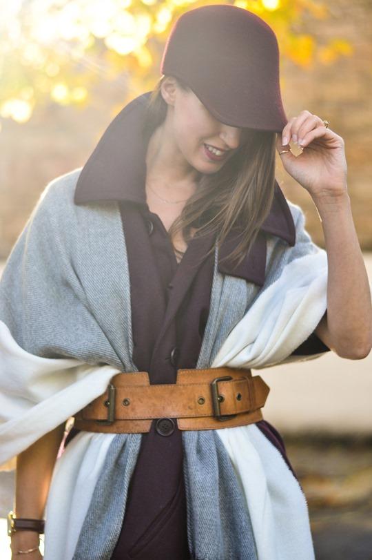 Thankfifi- Asos grey cream poncho cape 5 ways - fashion blogger style challenge-25