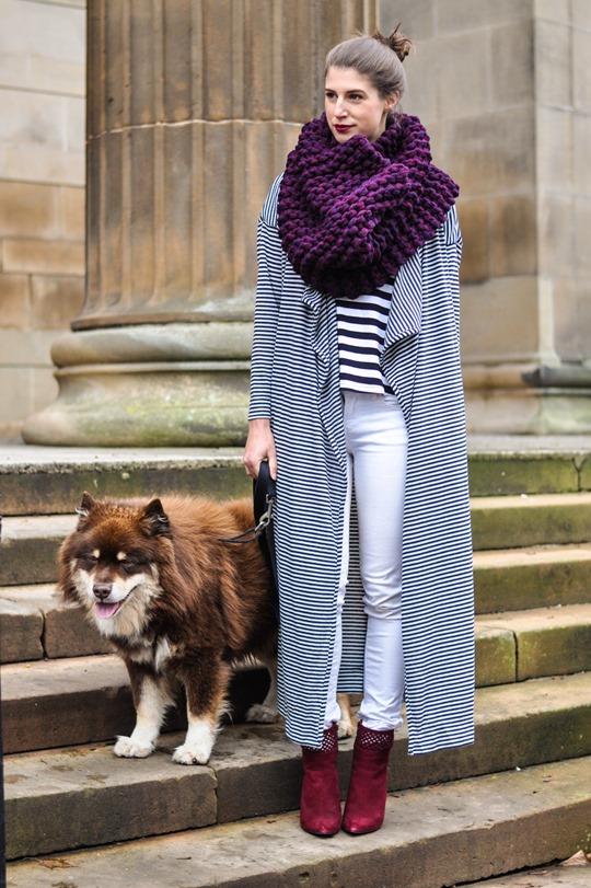 Thankfifi- Asos long striped cardigan coat-2