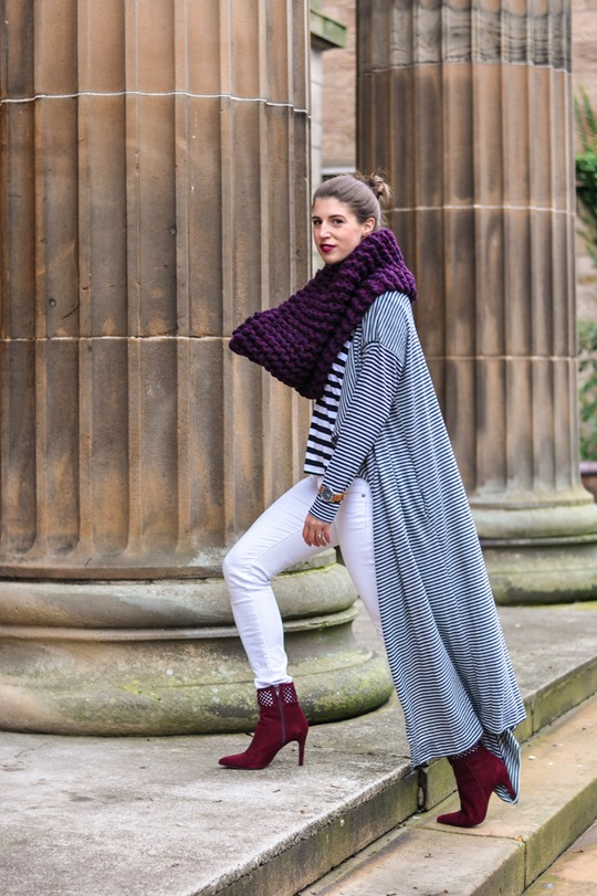 Thankfifi- Asos long striped cardigan coat-5-2