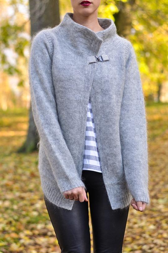 Thankfifi- Bastyan mohair knit   Hallhuber leather leggings-6