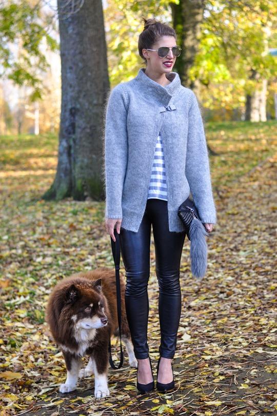 Thankfifi- Bastyan mohair knit   Hallhuber leather leggings-8
