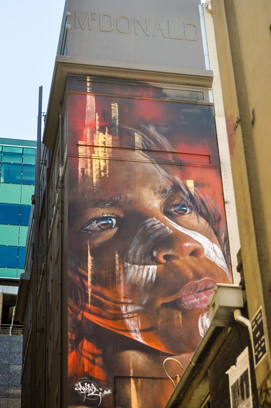 Thankfifi- Hosier Lane street art graffiti & street style, Melbourne-12