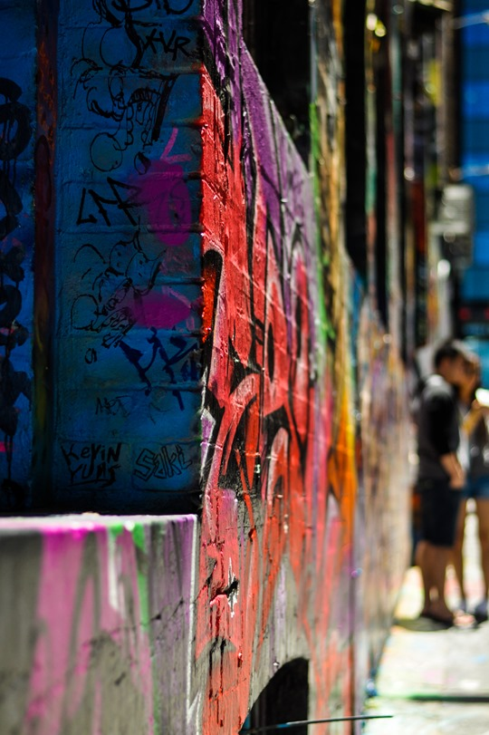 Thankfifi- Hosier Lane street art graffiti & street style, Melbourne-13