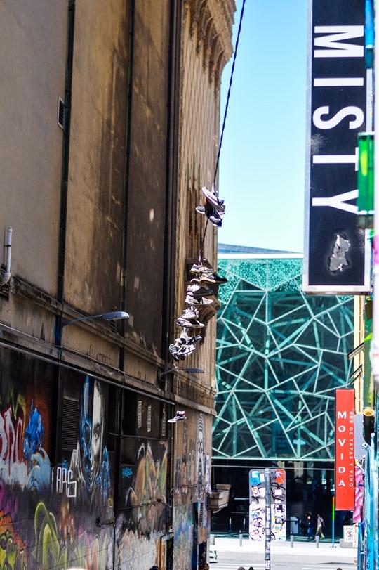 Thankfifi- Hosier Lane street art graffiti & street style, Melbourne-14