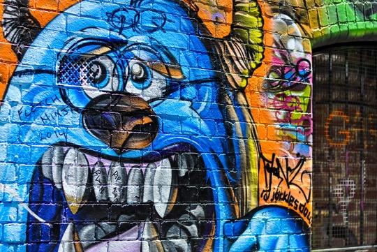 Thankfifi- Hosier Lane street art graffiti & street style, Melbourne-18