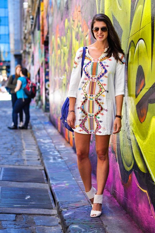 Thankfifi- Hosier Lane street art graffiti & street style, Melbourne-3