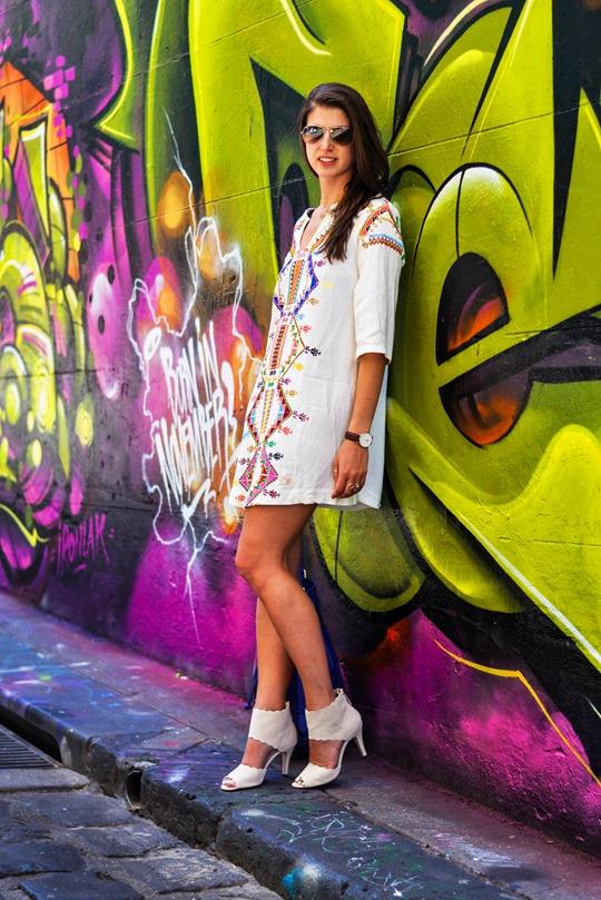 Thankfifi- Hosier Lane street art graffiti & street style, Melbourne-5