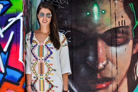 Thankfifi- Hosier Lane street art graffiti & street style, Melbourne