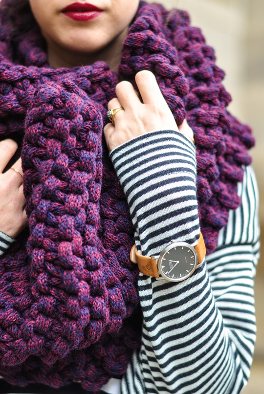 Thankfifi- Knit Knot Knit snood by Laura Muir-4