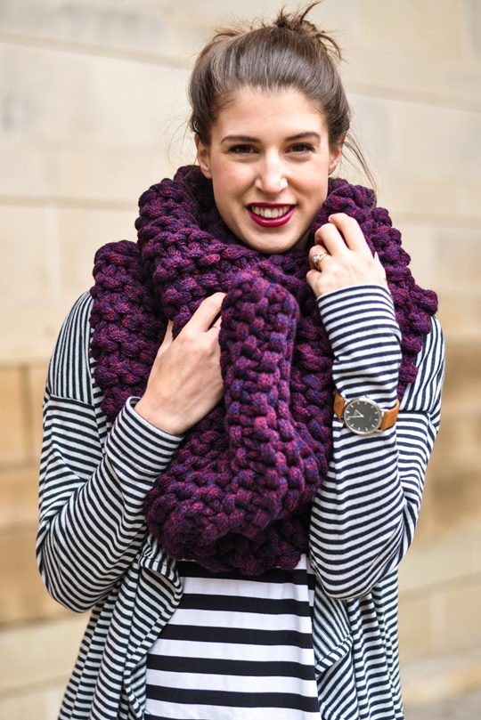 Thankfifi- Knit Knot Knit snood by Laura Muir-7