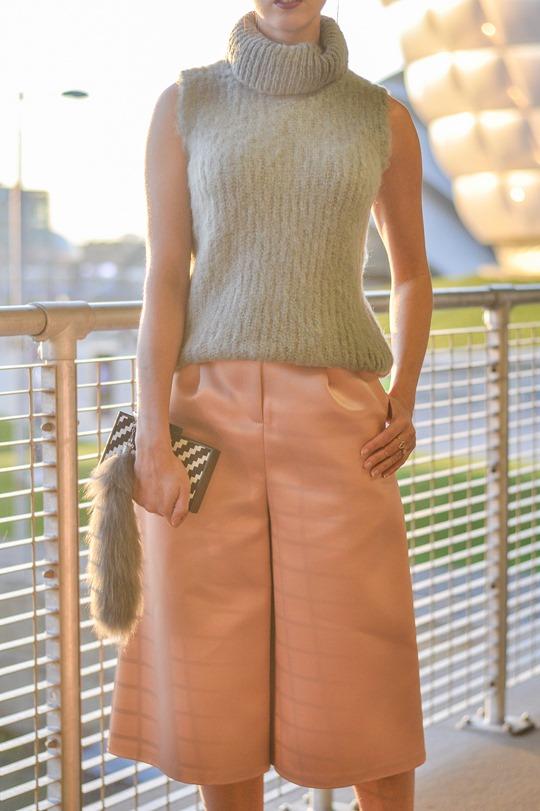 Thankfifi- MTV EMA style - fashion blogger streetstyle - Topshop satin culottes-4