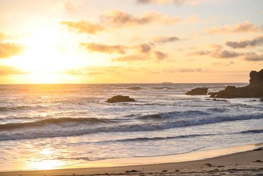 Thankfifi- Ocean Beach at sunset - Sorrento, Victoria, Melbourne Australia