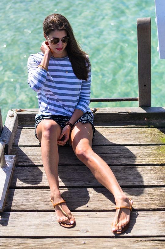Thankfifi- The Fifth Label stripes - Sorrento Pier, Victoria, Melbourne Australia-11