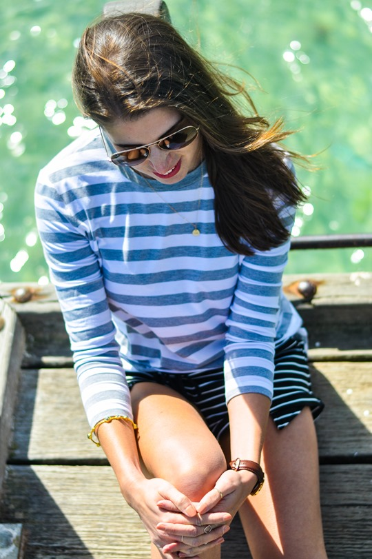 Thankfifi- The Fifth Label stripes - Sorrento Pier, Victoria, Melbourne Australia-12