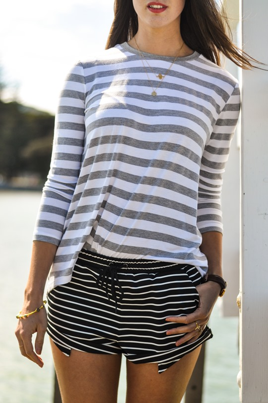 Thankfifi- The Fifth Label stripes - Sorrento Pier, Victoria, Melbourne Australia-16
