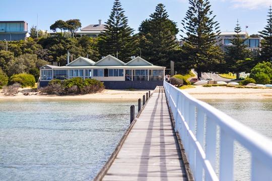 Thankfifi- The Fifth Label stripes - Sorrento Pier, Victoria, Melbourne Australia-8