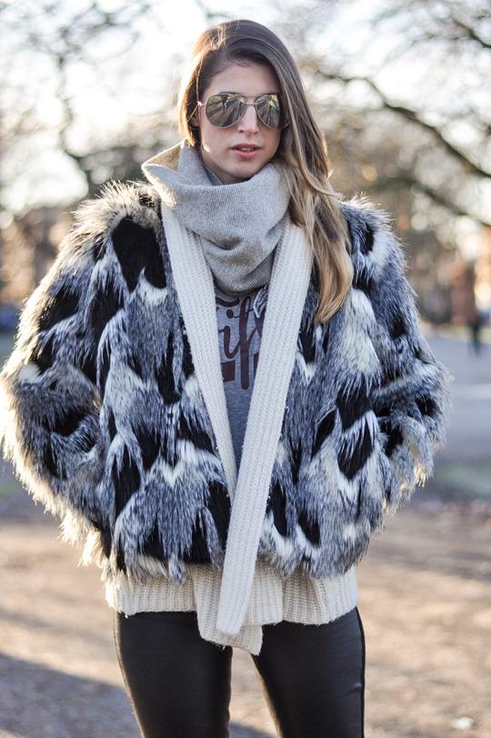 Thankfifi- Patchwork fur jacket - fashion blogger streetstyle Glasgow-2