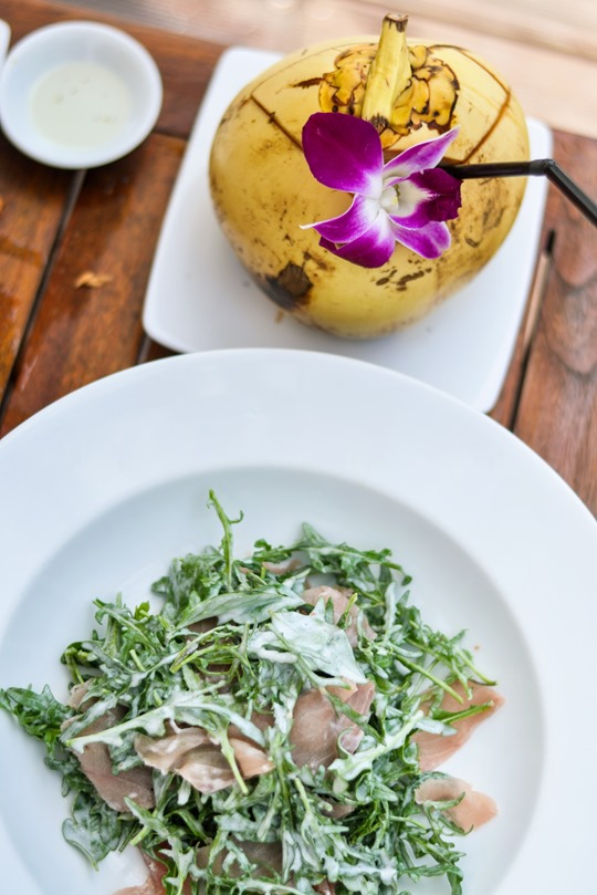 Thankfifi- The Royal Beach, Seminyak, Bali review - lunch