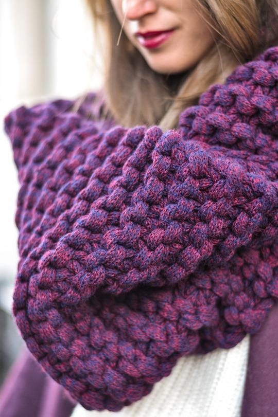 Thankfifi- Vogue Eyewear - Knit Knot Knit snood & Chloe burgundy cape coat - fashion blogger street style-6