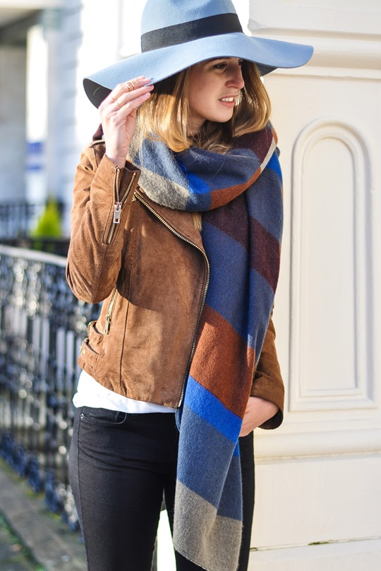 Thankfifi- Burberry blanket cape high street lookalike-6