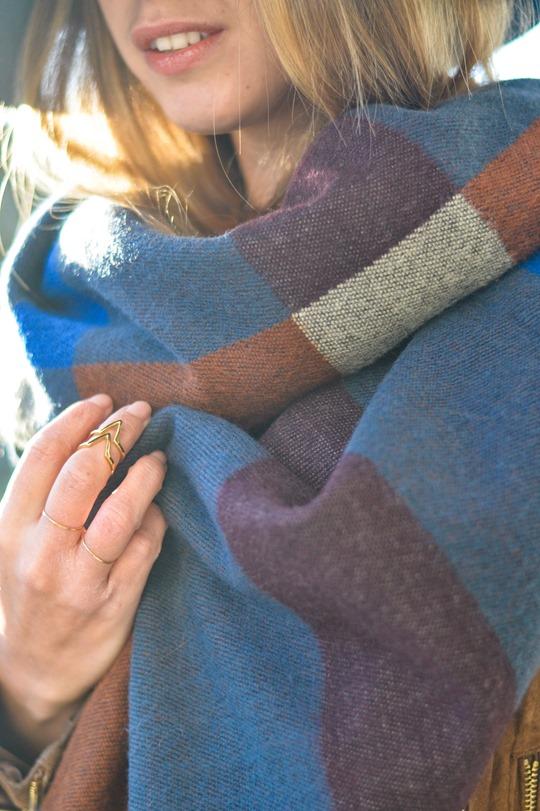 Thankfifi- Burberry blanket cape high street lookalike-9