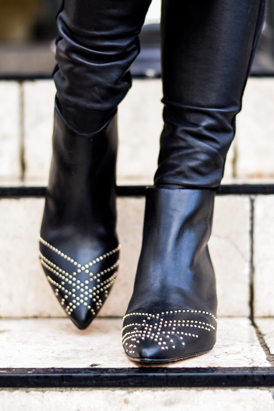 Thankfifi- Reiss Calla studded leather ankle boots-4
