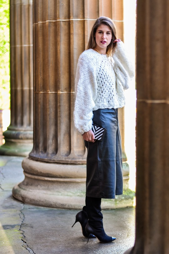 Thankfifi- Topshop leather culottes - date night style-7