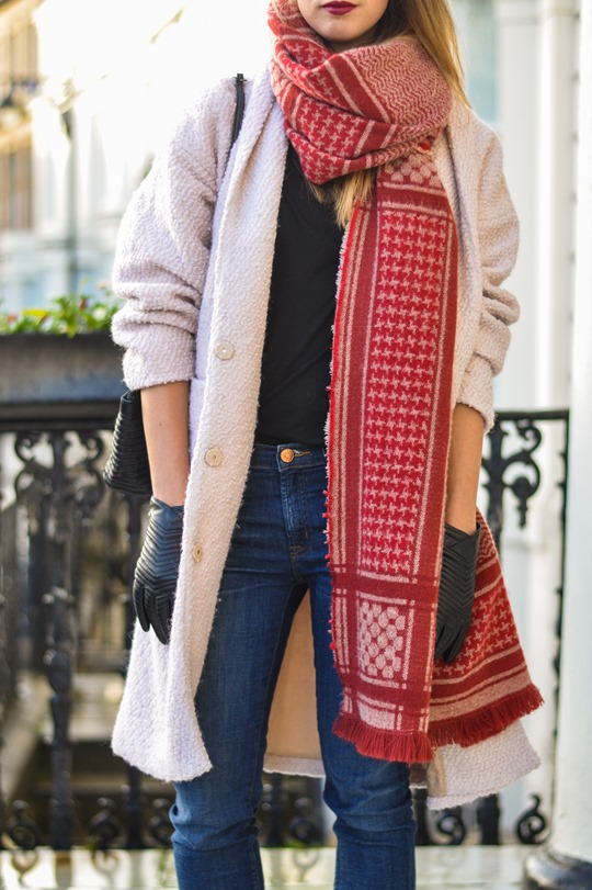 Thankfifi- Zara blanket scarf - scottish fashion blogger streetstyle-10