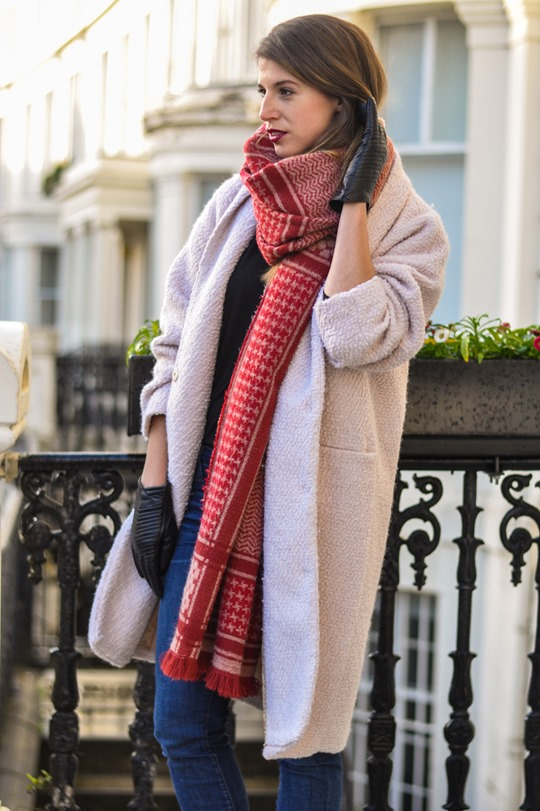 Thankfifi- Zara blanket scarf - scottish fashion blogger streetstyle-2