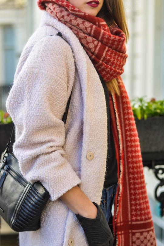 Thankfifi- Zara blanket scarf - scottish fashion blogger streetstyle-3