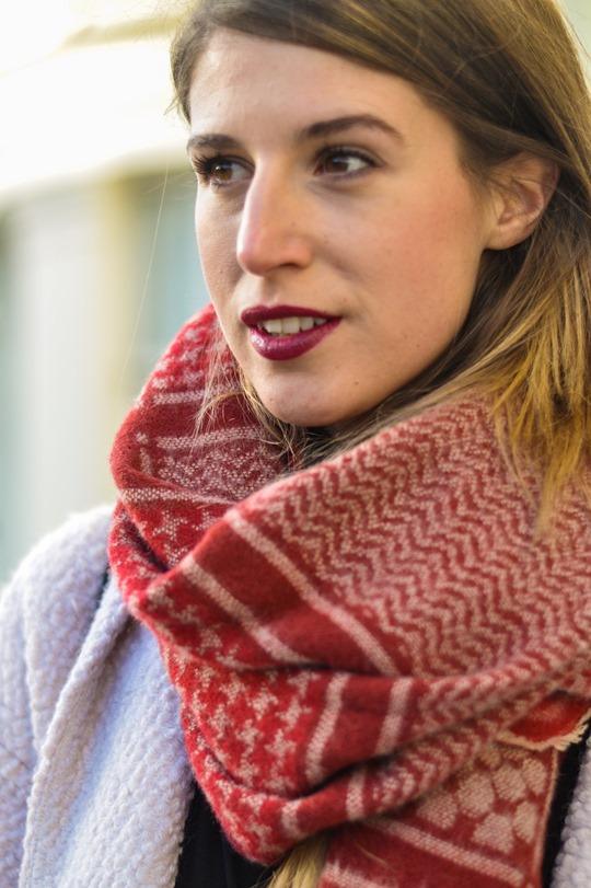 Thankfifi- Zara blanket scarf - scottish fashion blogger streetstyle-5