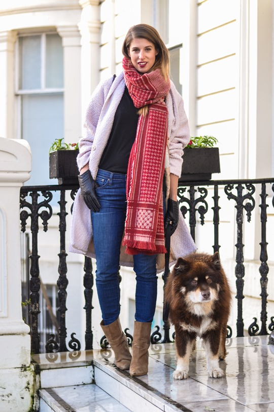 Thankfifi- Zara blanket scarf - scottish fashion blogger streetstyle