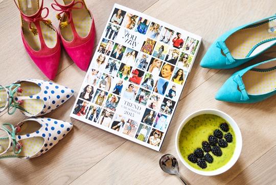 Thankfifi- Boden polkadot Alice heels & mango, avocado, kale smoothie bowl-12
