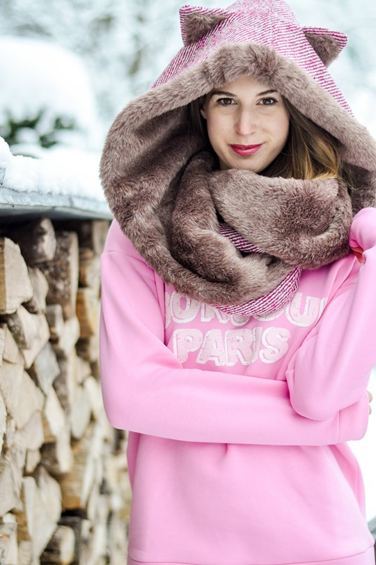 Thankfifi- Chouchou couture Hollyhood Kitty, Chamonix-8