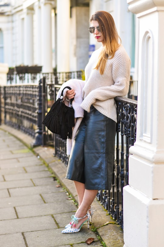 London fashion week aw15 street style fringing for Boden mode london