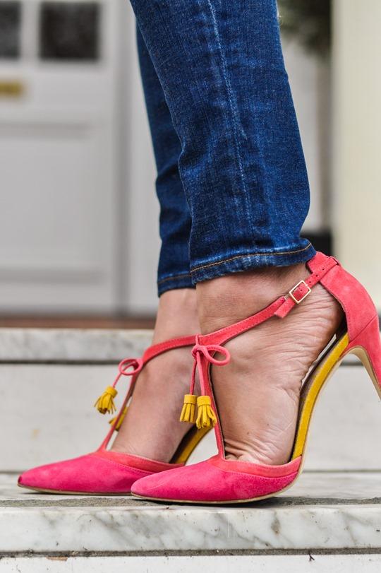 Thankfifi- Crusader - Topshop blanket cape & Boden Alice heels-16