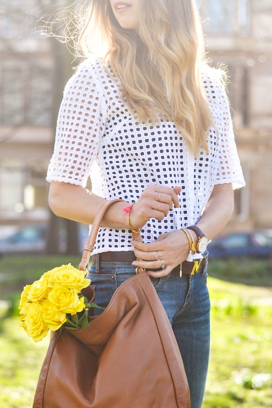 Thankfifi- Spring fling in Next broderie anglaise white shirt & Boden Lille flats-5