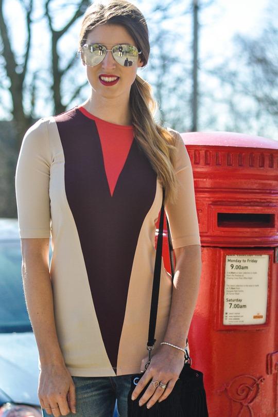 Thankfifi- Victoria Beckham colour block top-2