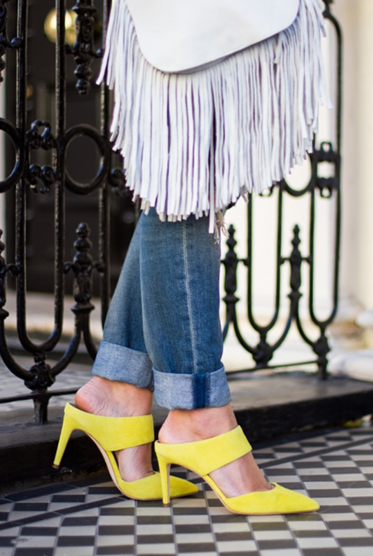 Thankfifi- Boden Thelma heel mules & Next white leather fringe saddle bag - a look for London meetings-9