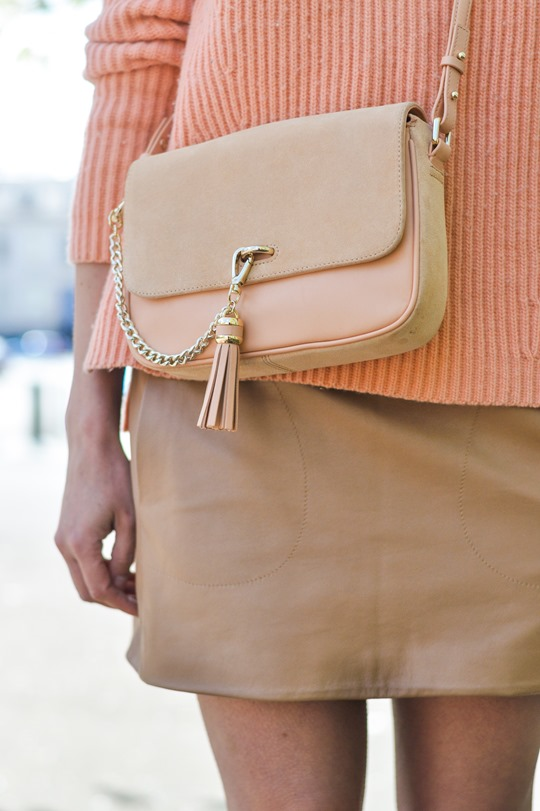 Thankfifi- Peachy - Reiss Laguna cross body bag-11