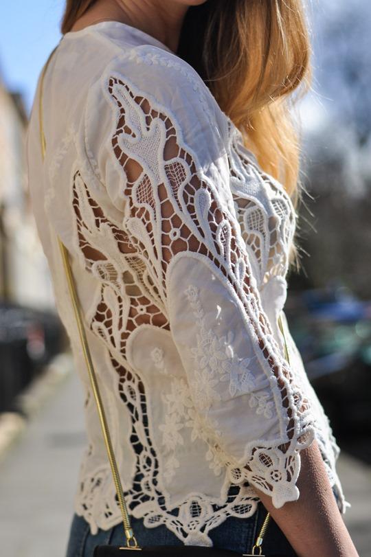 Thankfifi- The H&M Trend denim culottes & crochet lace-11