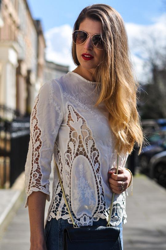 Thankfifi- The H&M Trend denim culottes & crochet lace-9