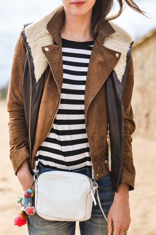 Thankfifi- Beach style in Ted Baker shearling layers-7