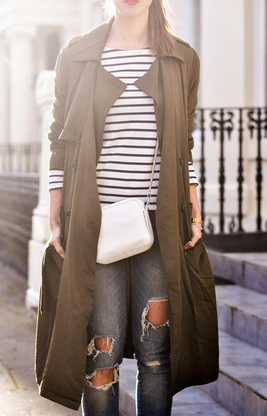 Thankfifi- Street style in F&F khaki trench coat-12
